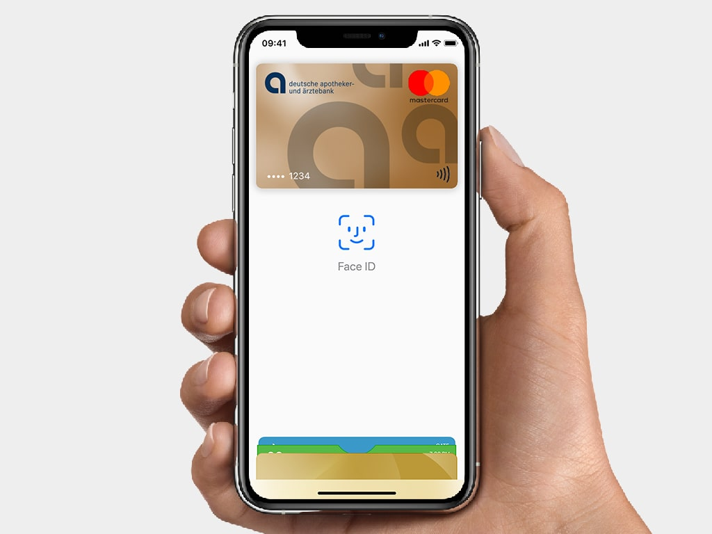 apobank apple pay face id