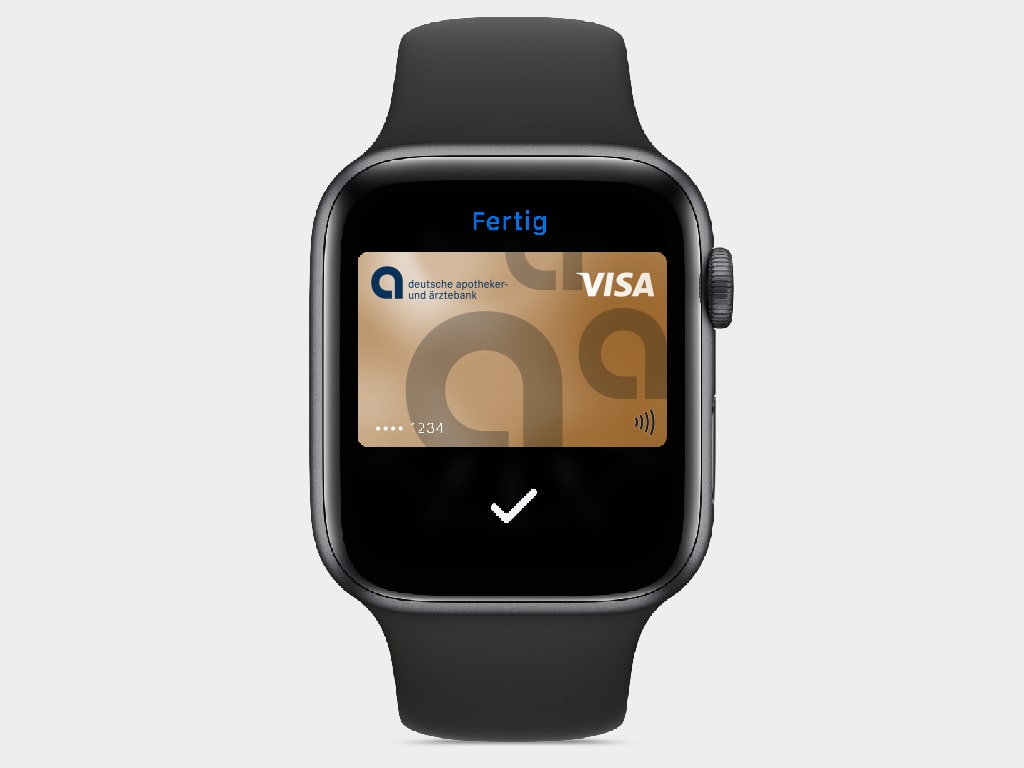 apobank apple pay touchid